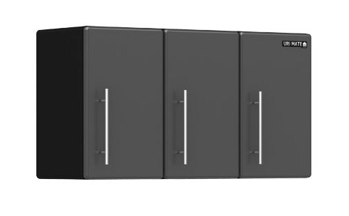Ulti-MATE Garage 3-Door Partitioned Wall Cabinet