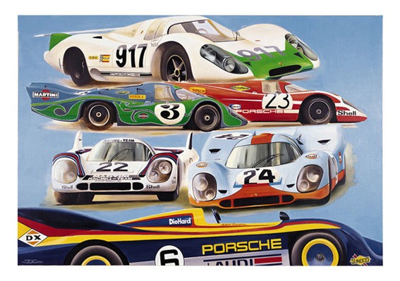 917 Legend Art Print by St̩éphane Dufour