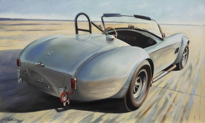 AC Cobra FIA Art Print by Stéphane Dufour