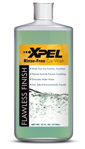 XPEL Rinse Free Car Wash Solution 16 Ounce