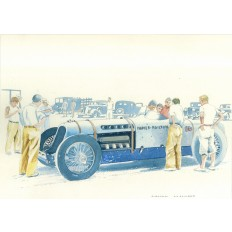 Napier Railton Art Print by Giovanni Casander
