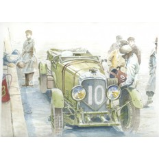 Bentley 6.5 Litre Speed Six Art Print by Giovanni Casander