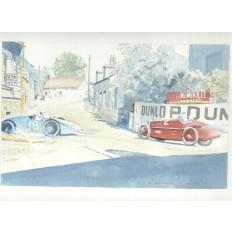 Bugatti Type 32 Tank 2 Art Print by Giovanni Casander