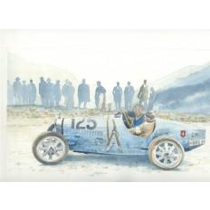 Bugatti Type 35 Klausen Rennen Art Print by Giovanni Casander