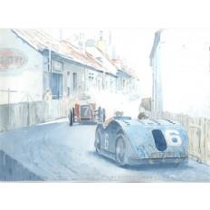 Bugatti Type 32 Tank (1) Art Print by Giovanni Casander
