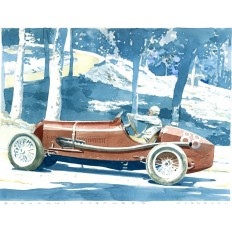 Maserati 26 M Art Print by Giovanni Casander