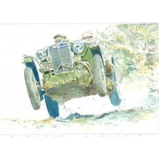 MG C Art Print by Giovanni Casander
