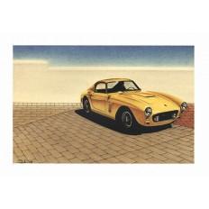 Ferrari 250 GT Art Print by St̩éphane Dufour