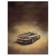 Carrera 4S Art Print by St̩éphane Dufour