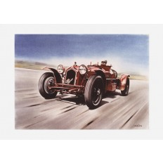 Alfa Romeo Monza Art Print by St̩éphane Dufour