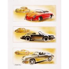 Génération Speedster Art Print by St̩éphane Dufour