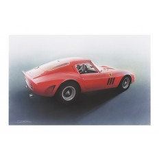 250 GTO Art Print by St̩éphane Dufour