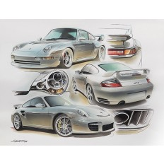 GT2 Legend Art Print by St̩éphane Dufour