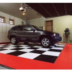 Park Smart Style Tile Interlocking Floor Tiles - Coin Pattern