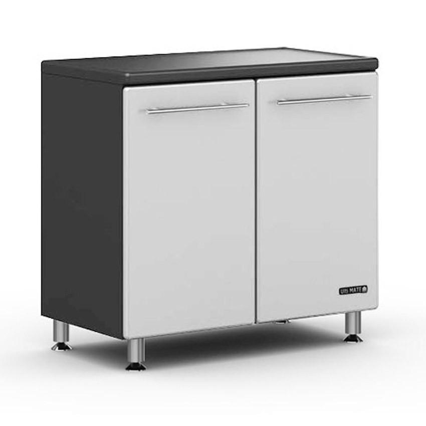 Ulti-MATE Storage 2-Door Base Cabinet in Starfire Pearl