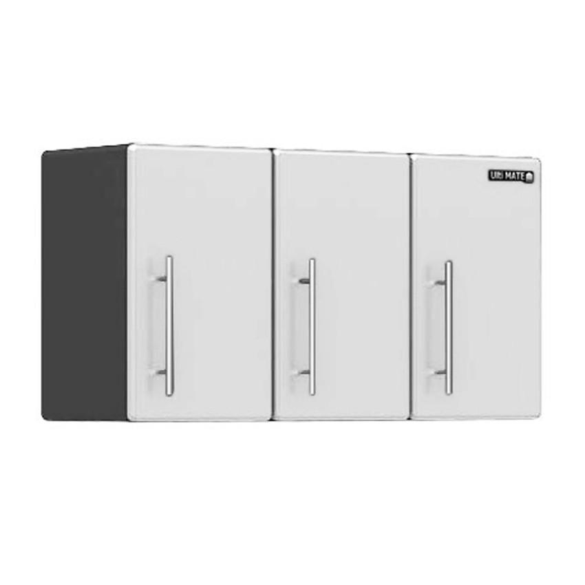 Ulti-MATE Storage 3-Door Wall Cabinet in Starfire Pearl