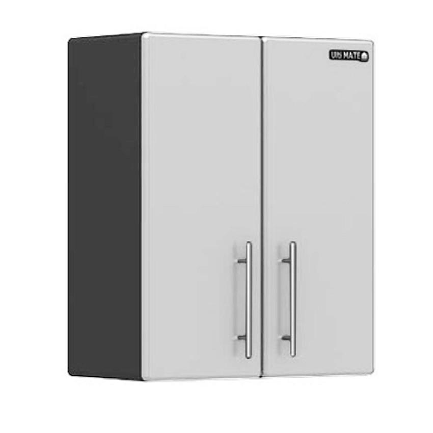 Ulti-MATE Storage 2-Door Wall Cabinet in Starfire Pearl