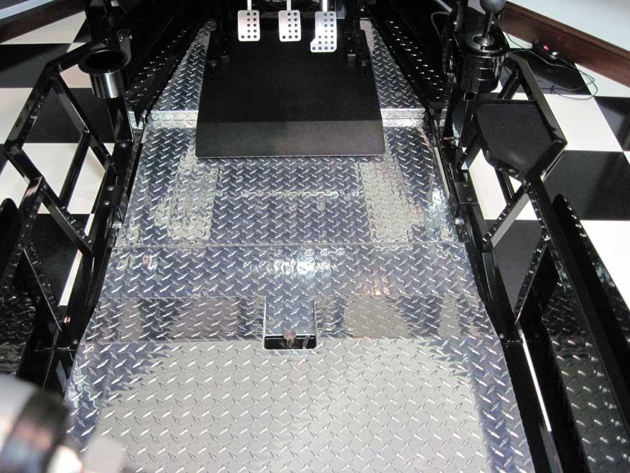 SimXperience Aluminum Floorboard Upgrade