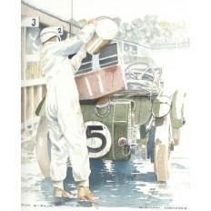 Bentley 4.5 Litre Art Print by Giovanni Casander