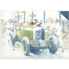 Bentley Blower Art Print by Giovanni Casander