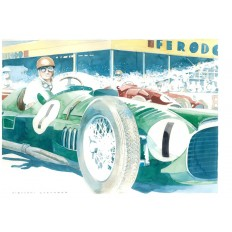 BRM V16 Art Print by Giovanni Casander