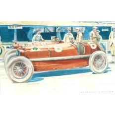 Alfa Romeo P2 (1) Art Print by Giovanni Casander