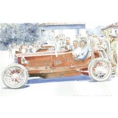 Alfa Romeo RLTF Art Print by Giovanni Casander
