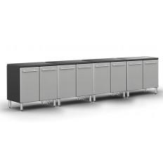 Ulti-MATE Garage PRO 2-Door Base Cabinet Package