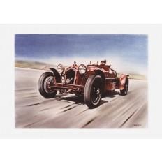 Alfa Romeo Monza Art Print by St̩éphane Dufour